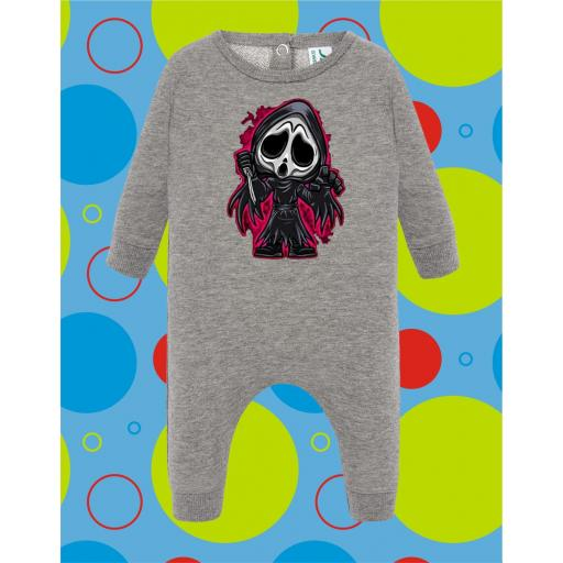 Pelele de bebé Ghost [1]