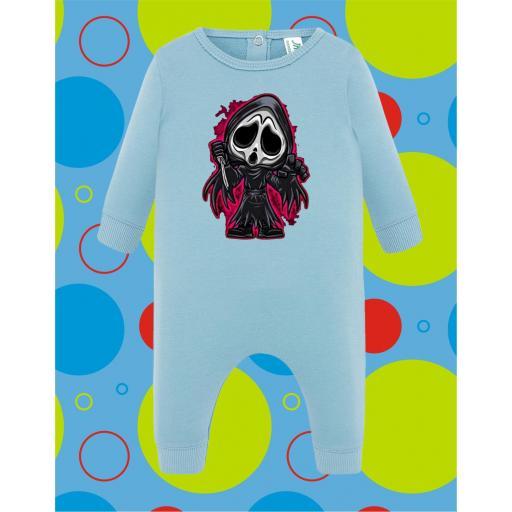Pelele de bebé Ghost [2]