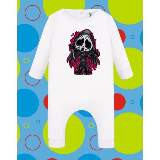 Pelele de bebé Ghost [3]