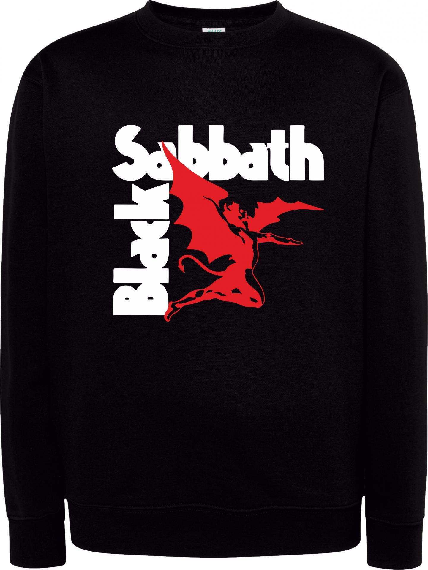 Sudadera Cuello Redondo Black Sabbath