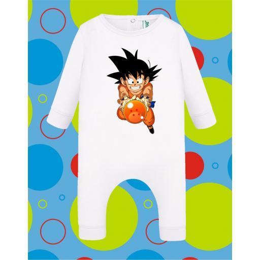 Pelele de bebé Goku Bola