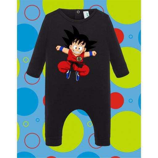 Pelele de bebé Goku Saltando [3]