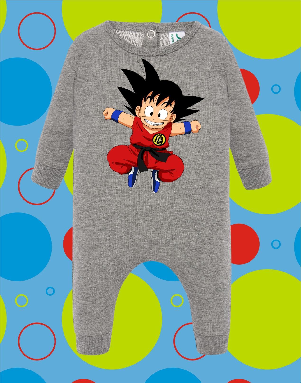 Pelele de bebé Goku Saltando