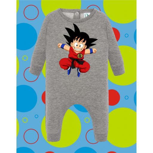 Pelele de bebé Goku Saltando [0]