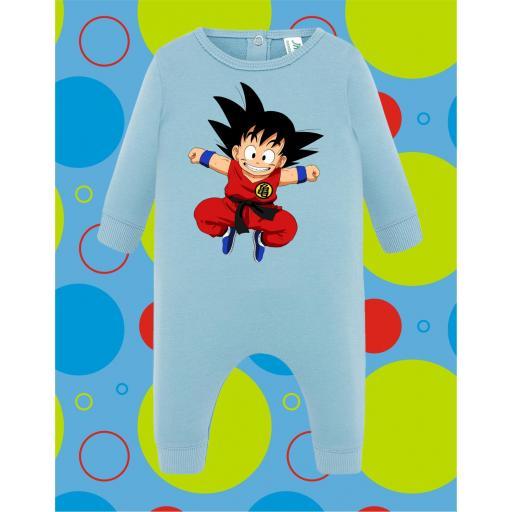 Pelele de bebé Goku Saltando [1]