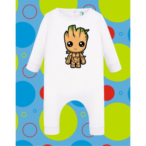 Pelele de bebé Groot [3]