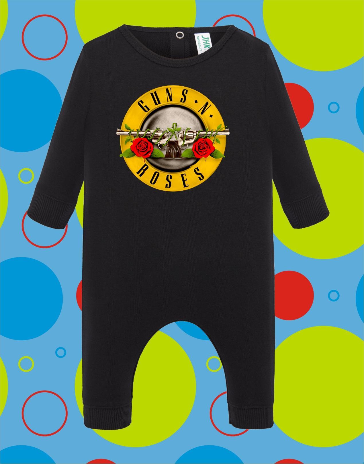 Pelele de bebé Guns n Roses