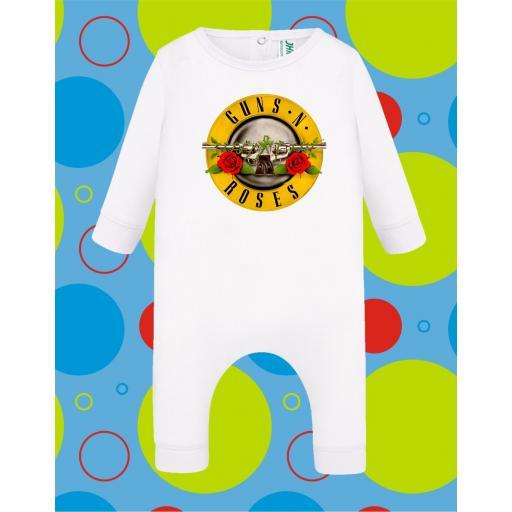 Pelele de bebé Guns n Roses [3]