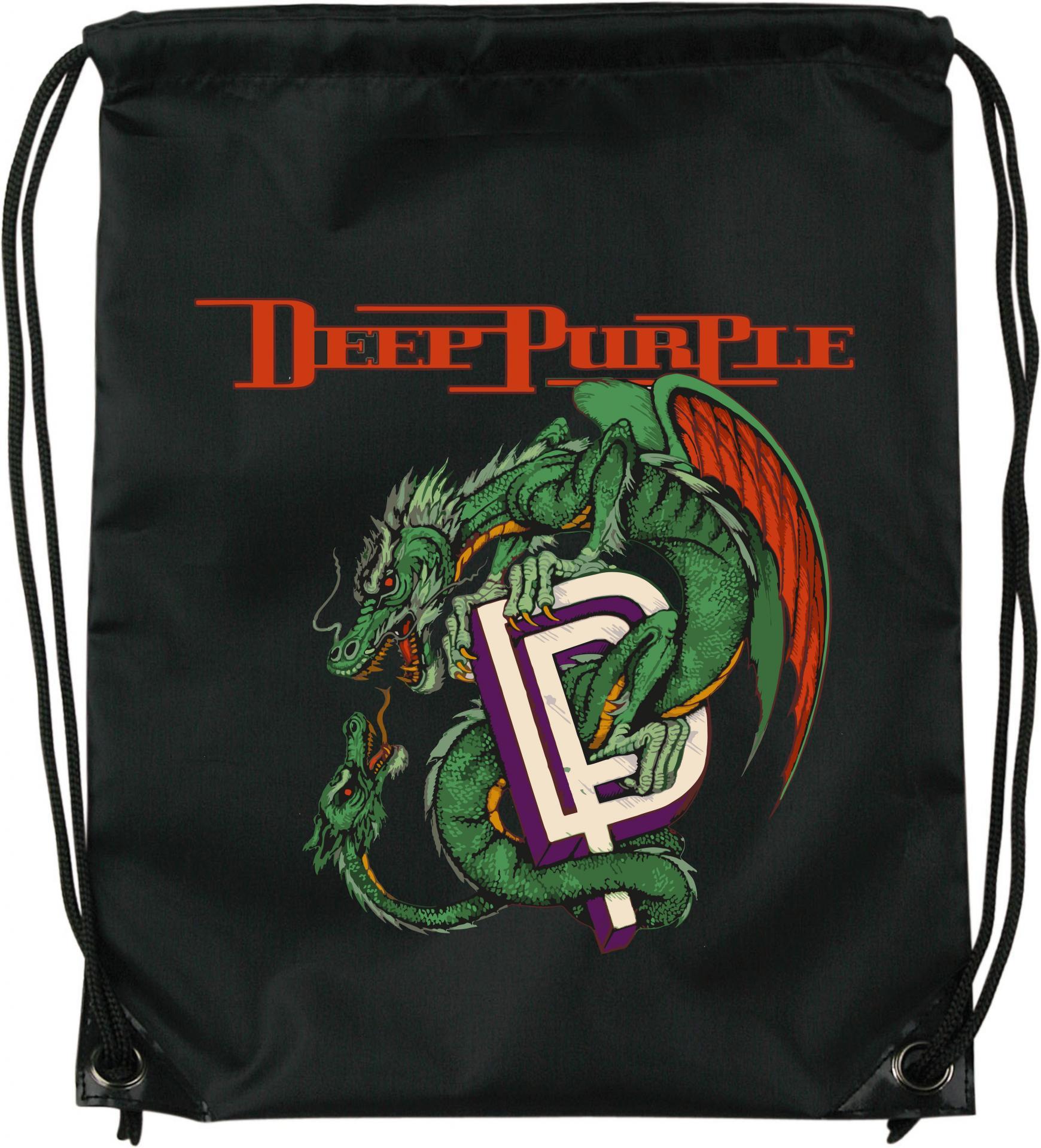Mochila de cuerdas Deep Purple