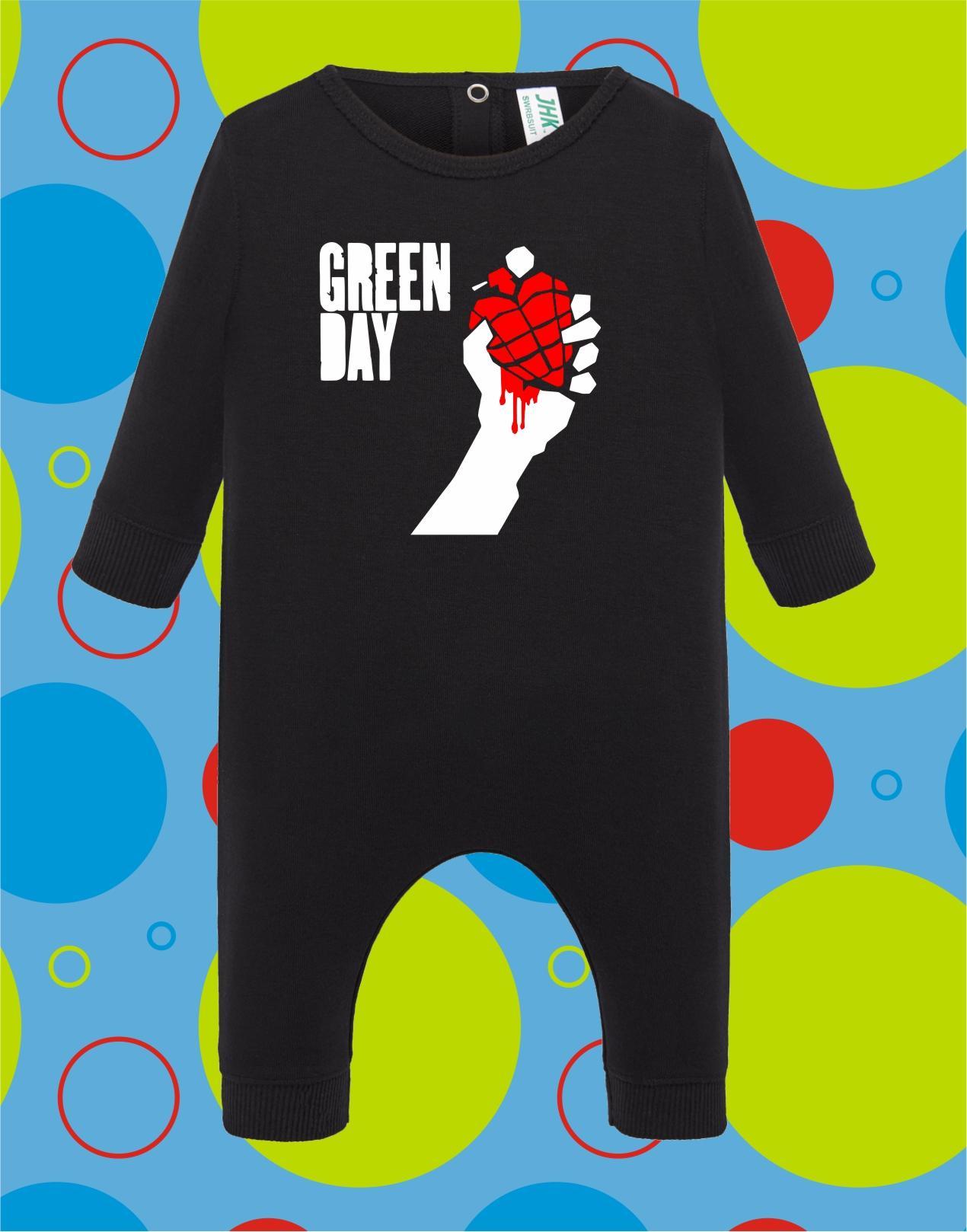 Pelele de bebé Green Day