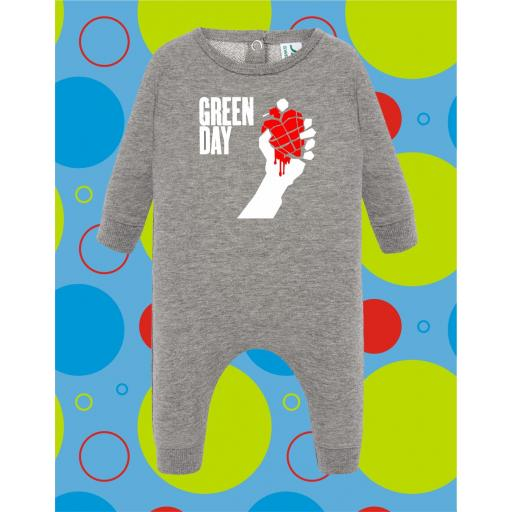 Pelele de bebé Green Day [1]