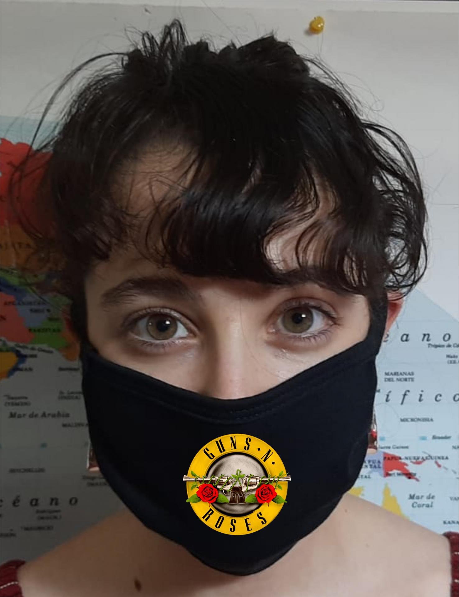 Mascarilla Protección Guns N Roses
