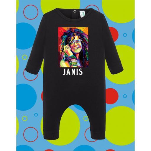 Pelele de bebé Janis Joplin [3]