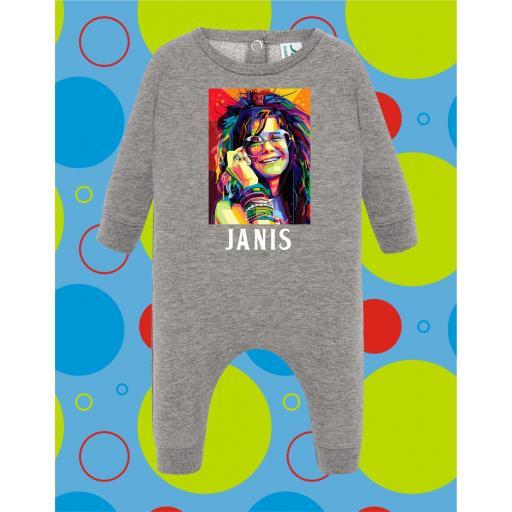 Pelele de bebé Janis Joplin [1]