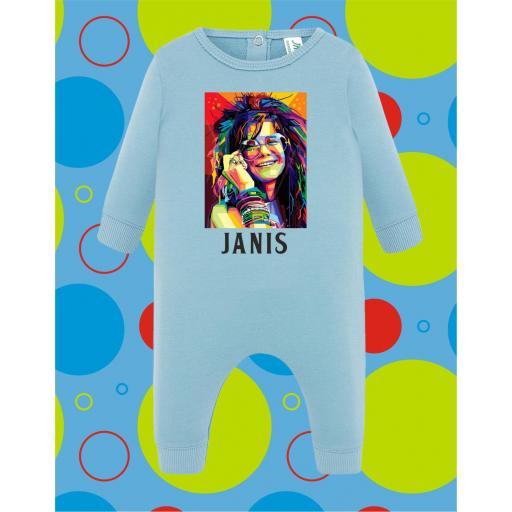 Pelele de bebé Janis Joplin