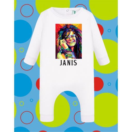 Pelele de bebé Janis Joplin [2]