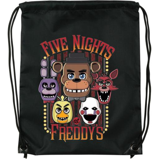 Mochila de cuerdas Five Nights at Freddys
