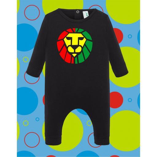 Pelele de bebé Leon Juda Rastafari