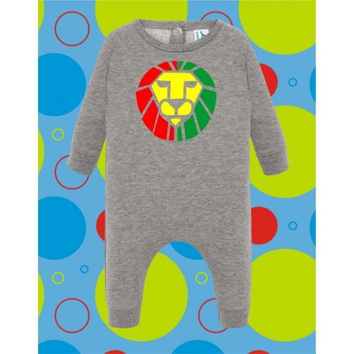 Pelele de bebé Leon Juda Rastafari [1]