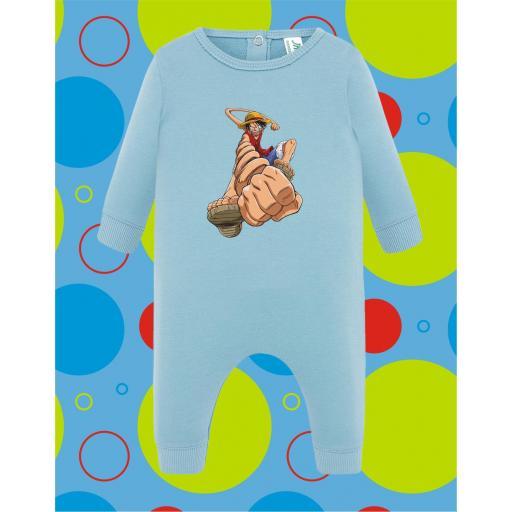 Pelele de bebé Luffy One Piece [2]