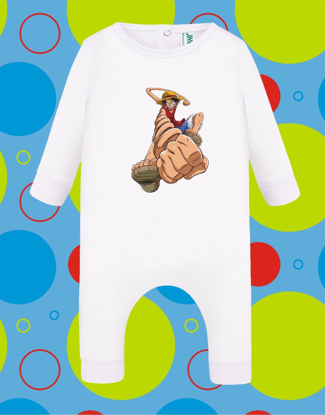 Pelele de bebé Luffy One Piece