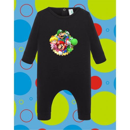 Pelele de bebé Mario Grupo [3]