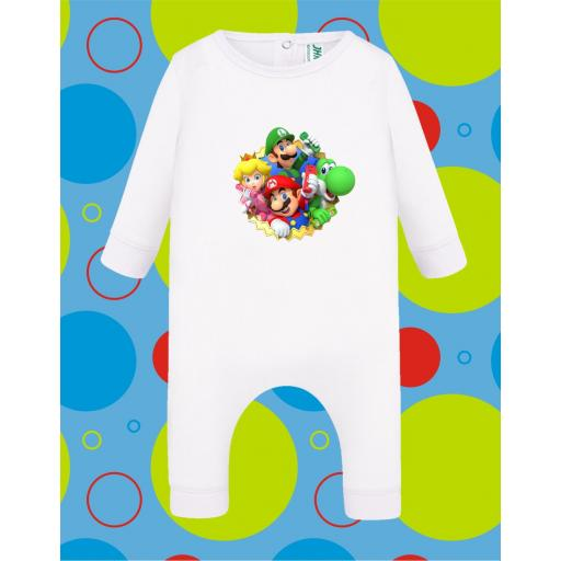 Pelele de bebé Mario Grupo [2]