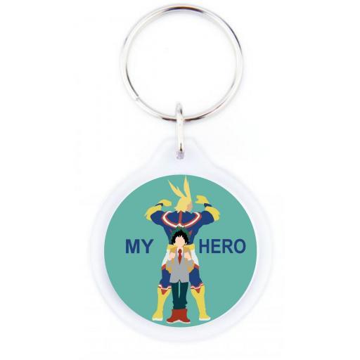 Llavero My Hero  LLA056