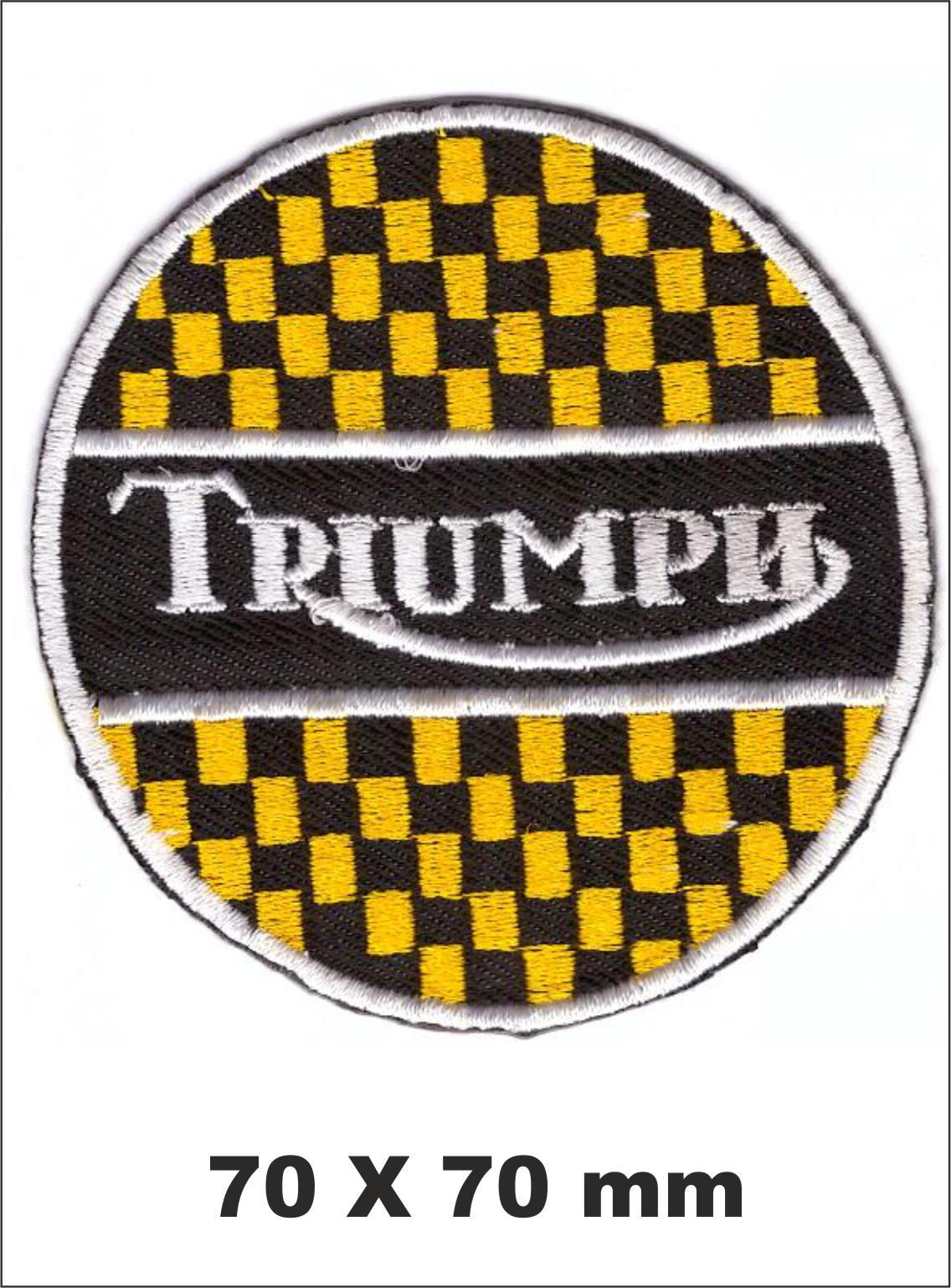 PARCHE BORDADO TRIUMPH