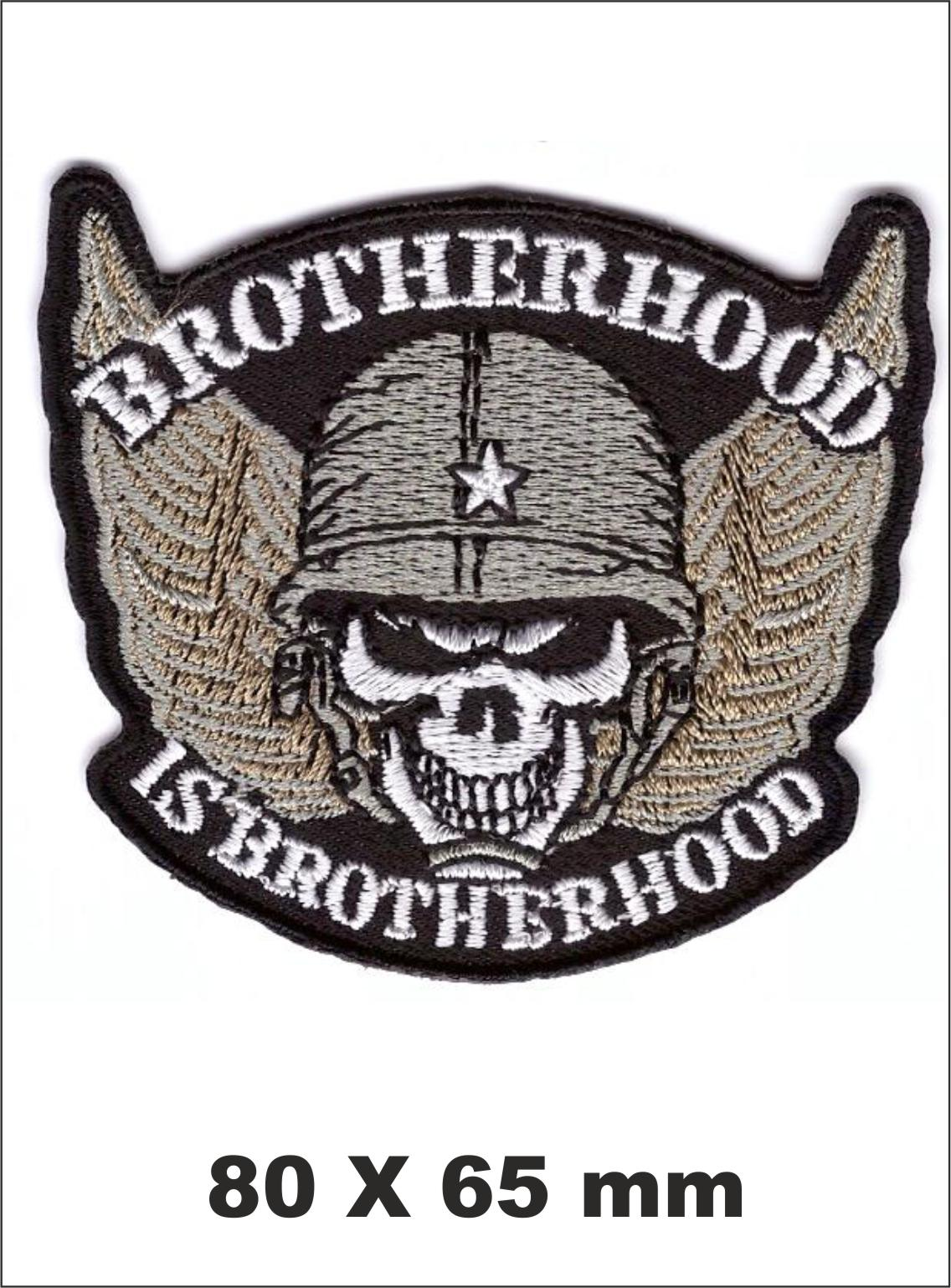 PARCHE BORDADO BROTHERHOOD