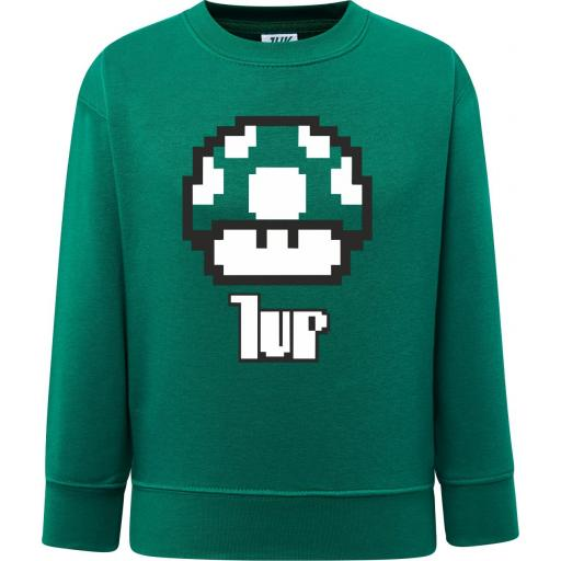 SUDADERA NIÑO 1UP SUPERMARIO