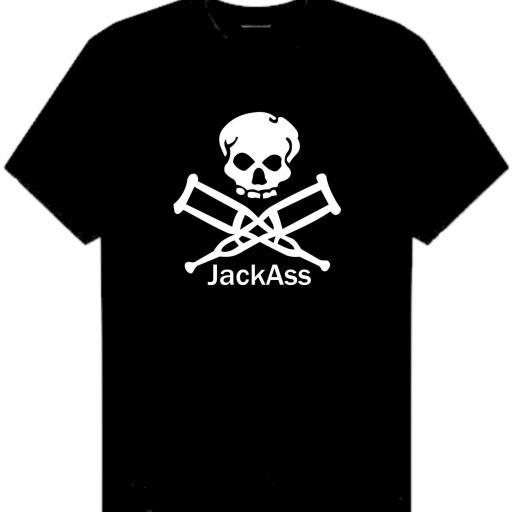 CAMISETA JACK ASS