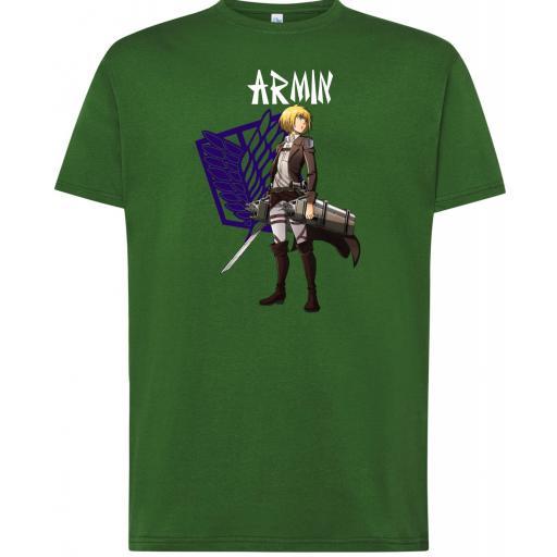 Camiseta Attack on Titan Armin