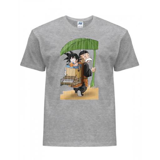 Camiseta Dragon Ball Gohan Abuelo