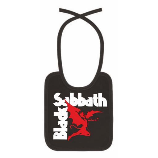 Babero Black Sabbath
