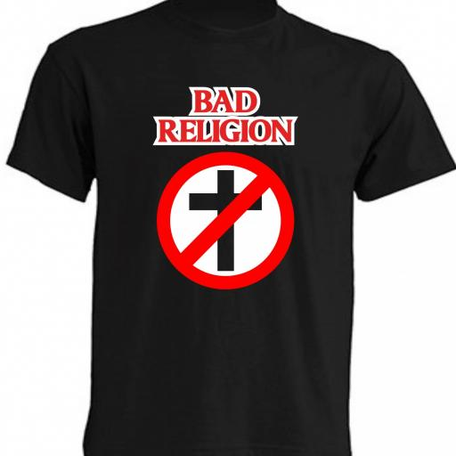 CAMISETA BAD RELIGION