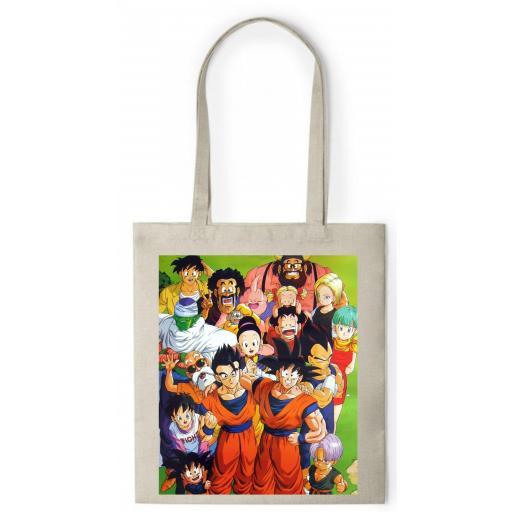Bolsa de Asa tipo Nature  - Dragon Ball - BCR073