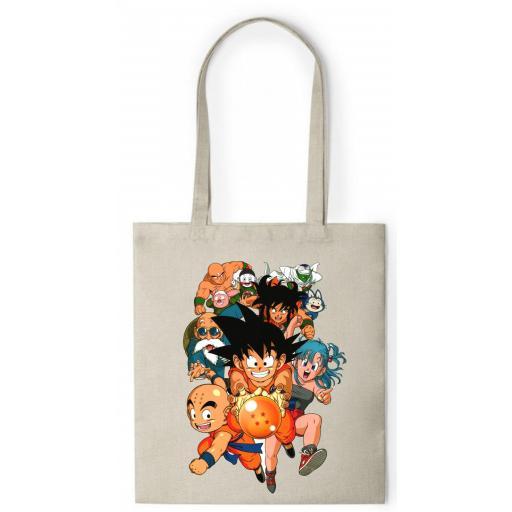 Bolsa de Asa tipo Nature  - Dragon Ball - BCR074