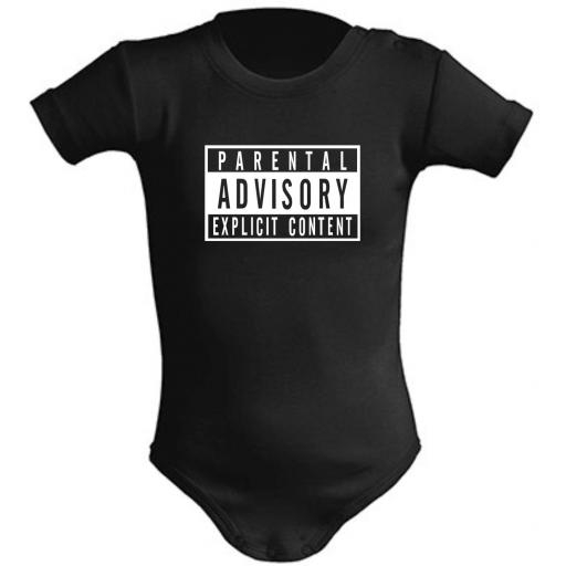 BODY DE BEBE PARENTAL ADVISORY [0]