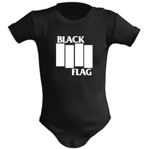 BODY DE BEBE BLACK FLAG
