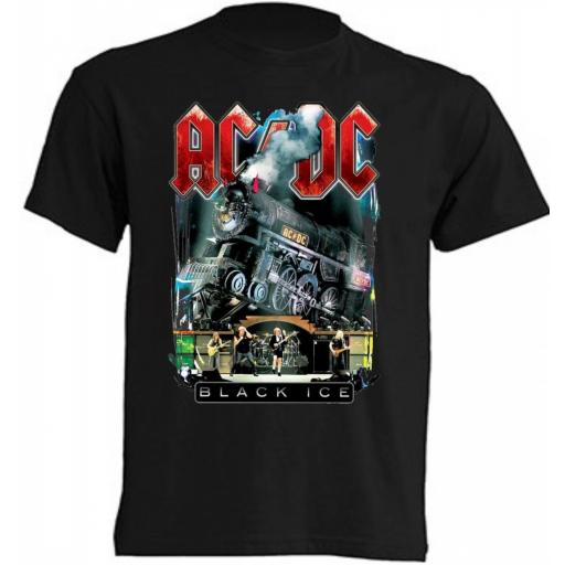 Camiseta AcDc Black Ice