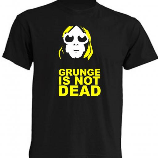 CAMISETA GRUNGE IS NOT DEAD
