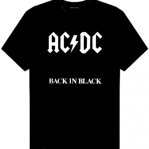CAMISETA ACDC BACK IN BLACK