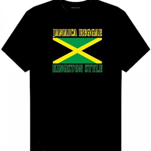 CAMISETA JAMAICA REGGAE