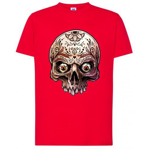 Camiseta CALAVERA 004