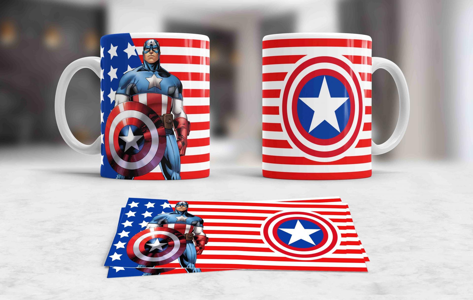 Taza Captain America (121)