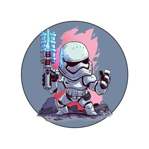 Chapa 017 - Starwars personajes