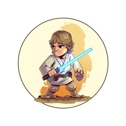 Chapa 019 - Starwars personajes