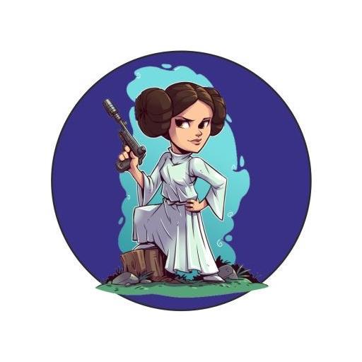 Chapa 023 - Starwars personajes
