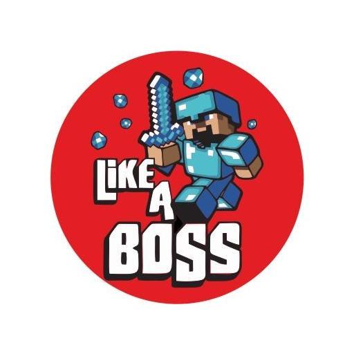 Chapa 073 - Like a Boss - Minecraft